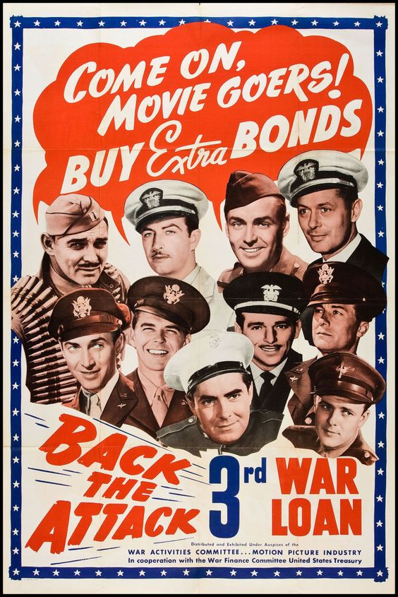 Back the Attack (War Activities Committee, 1943). Poster