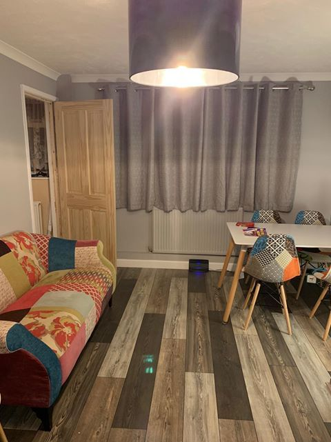 Thank You To Alison For Sharing This Photo Of Her Unique Home Our Elegant Nordic Pine S M Direct Wood Flooring Wood Floors Wide Plank Laminate Flooring Colors