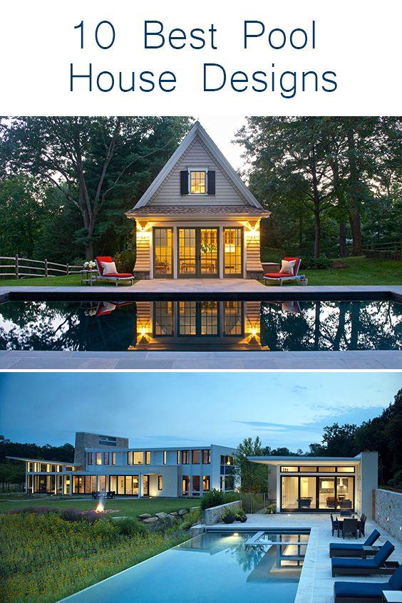 10 Best Pool House Design Ideas Pool House Designs Pool Houses Pool House