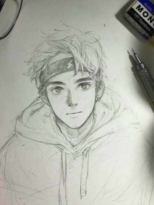 Drawings Of Cute Boys : drawings, Sketches, Pencil, Drawings,, Anime, Drawings, Sketches,