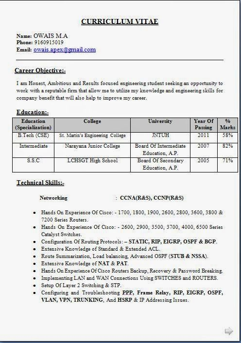 How Do I Write My Paper In Mla Format Hotel Antares A Btech Student Resume 16 Ways The Irc Amazing How Do I Wr Student Resume Sample Resume Network Engineer
