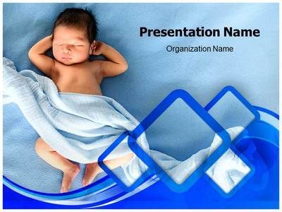 On back infants and sleep on pinterest for Pediatric powerpoint templates free download