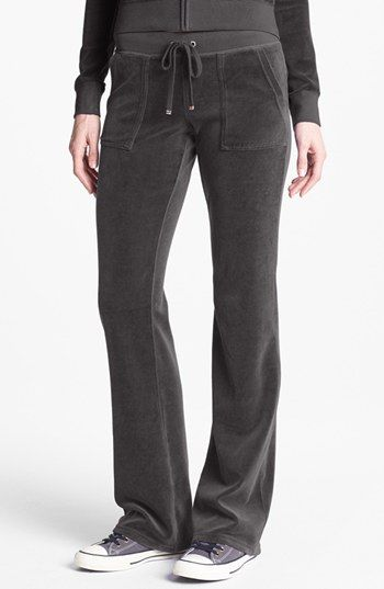 Juicy Couture Velour Pocket Pants (Online Only) available at #Nordstrom