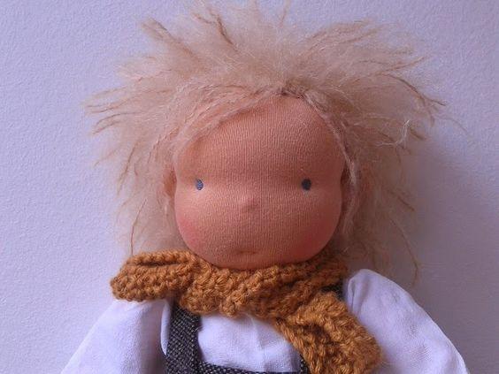 waldorf doll wig crotchet