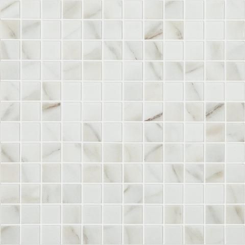 Calacatta Mt Calacatta Mt 4302 1 X 1 Glass Tile Glass Tile Calacatta Glass Mosaic Tiles