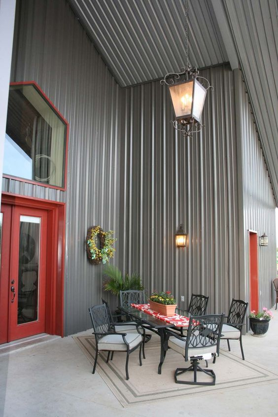 Steel building gallery category choice series 18 for House colour choice