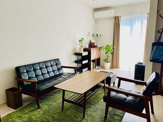 家具 ブランド インテリア レトロ クラシック カリモク60 昭和 リビングソファ