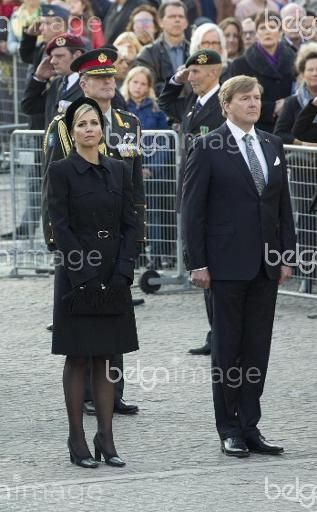 King Willem-Alexander, Queen Maxima,  attend the Death Remembrance at the National Monument. Amsterdam, Netherlands, 4. May 2016    ( DANA-No: 01516321 )