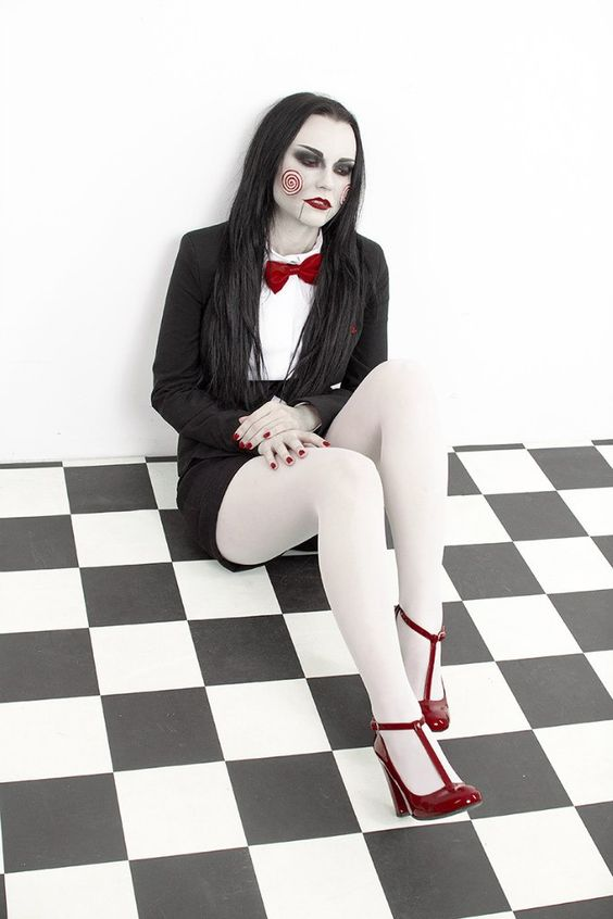 Billy The Puppet (female version) by jurisdictia.deviantart.com #cosplay: