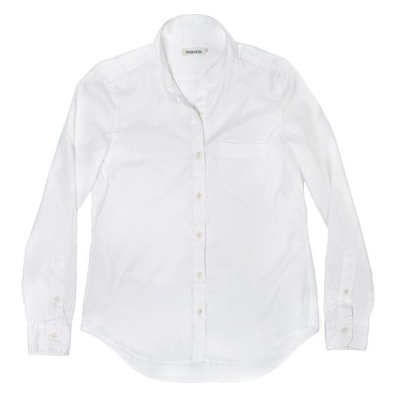 The Caroline - White Summer Chambray: Featured Product Image