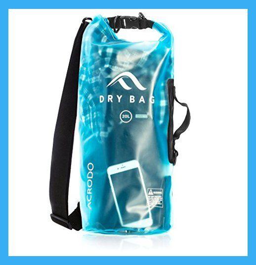 Waterproof Dry Sack Storage Bag 20 Litre Kayaking Canoeing Beach Camouflage