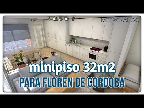 Minipiso 32m2 344ft2 Local Convertido En Vivienda Youtube Pisos Locales Planos