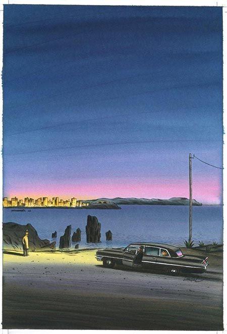Jacques de Loustal : « Pigalle 62.27 se situe entre les univers de Simenon, Melville et Modiano » - Actua BD: l'actualité de la bande dessinée