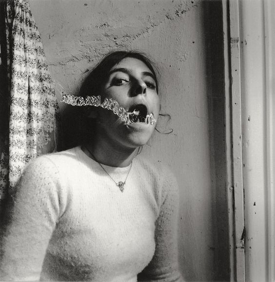 """Autoretrato"" by Francesca Woodman. Courtesy of PhotoEspaña / stylefeelfree.com"