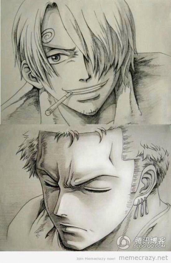 Animedrawing Anime Drawing Awesome One Piece Drawing One Piece Manga Anime Sketch