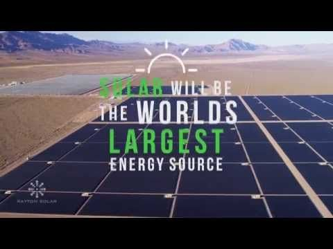Solar Panels With 100x less silicon.. Micro-thin and more efficient on the way!