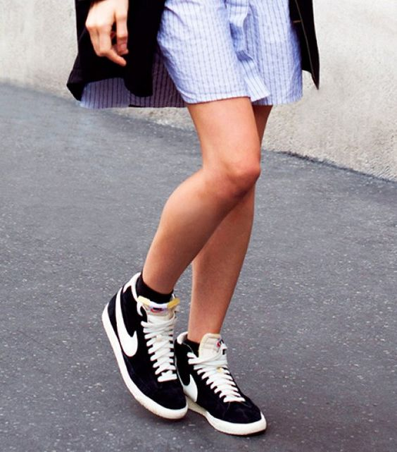 7 Tricks To Wearing Your Sneakers Outside The Gym via @WhoWhatWear