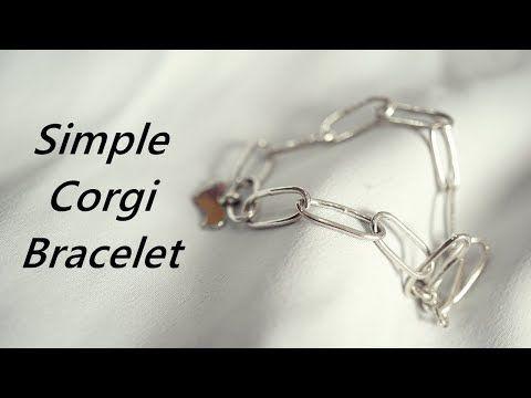 심플한 체인 은팔찌 만들기 Asmr Make A Simple Silver Bracelet Youtube 은 팔찌 팔찌 팔찌 만들기