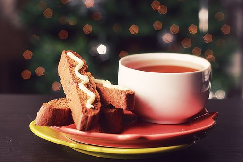 Gingerbread biscotti.