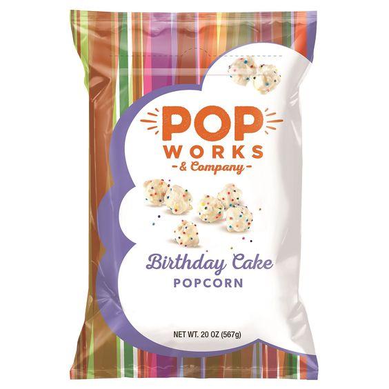 Popworks Birthday Cake Popcorn