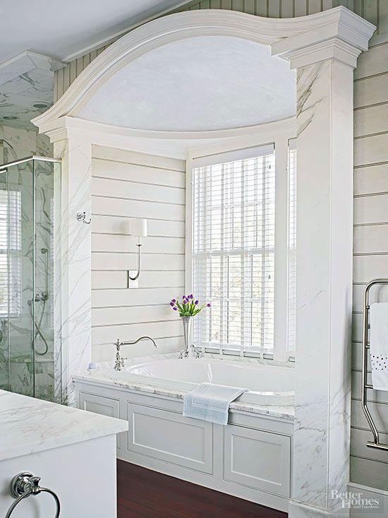 These Luxurious Bathroom Retreats Will Inspire Your Own Bathroom Makeover Bathroommakeovers Bhg Luxury Bathroom Dream Bathrooms Home