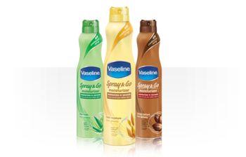 Vaseline has a new Spray & Go skincare line and it rocks!