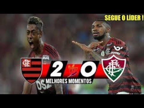 Segue O Lider Flamengo 2 X 0 Fluminense Gols E Melhores Momentos Do Flamengo E Fluminense Fluminense Gol