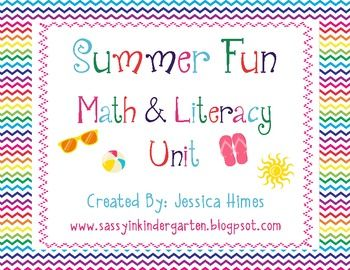 This summer themed packet includes:Pattern WorkAddingSubtractingGraphingDeciphering3 Writing PromptsSyllable WorkVowel SortRhymin...