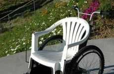 Elevating Wheelchairs - These elevating wheelchairs were designed by Melbourne, Australia's Jake Eadie.  Powered by an electric suspension mechanism, these wheelchai...