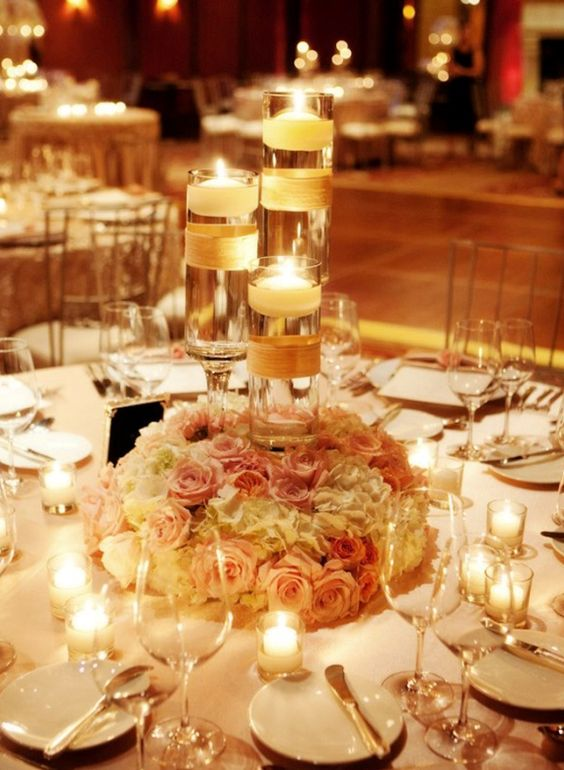 Floating-candles-wedding-centerpiece-ideas-jpg | Weddings Romantique