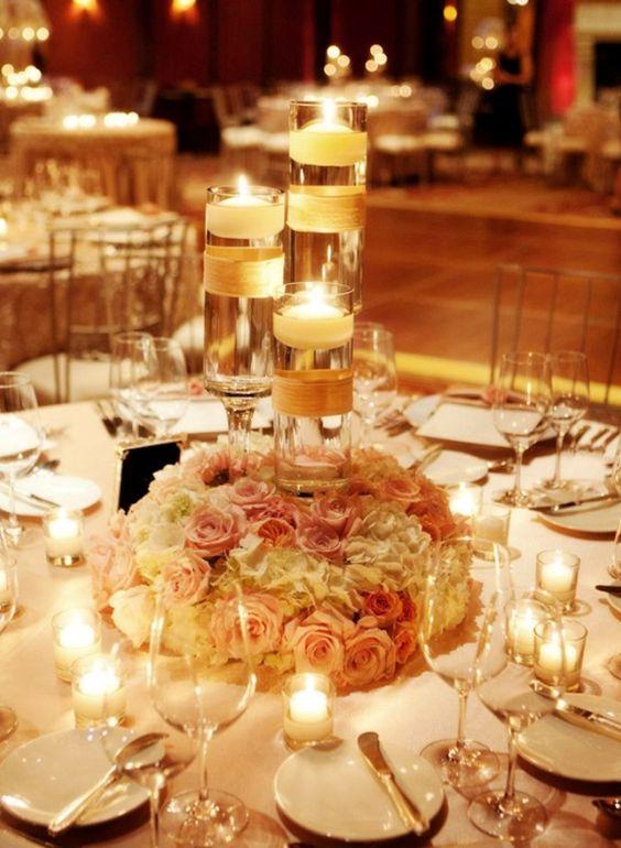 Floating-candles-wedding-centerpiece-ideas-jpg | Weddings Romantique