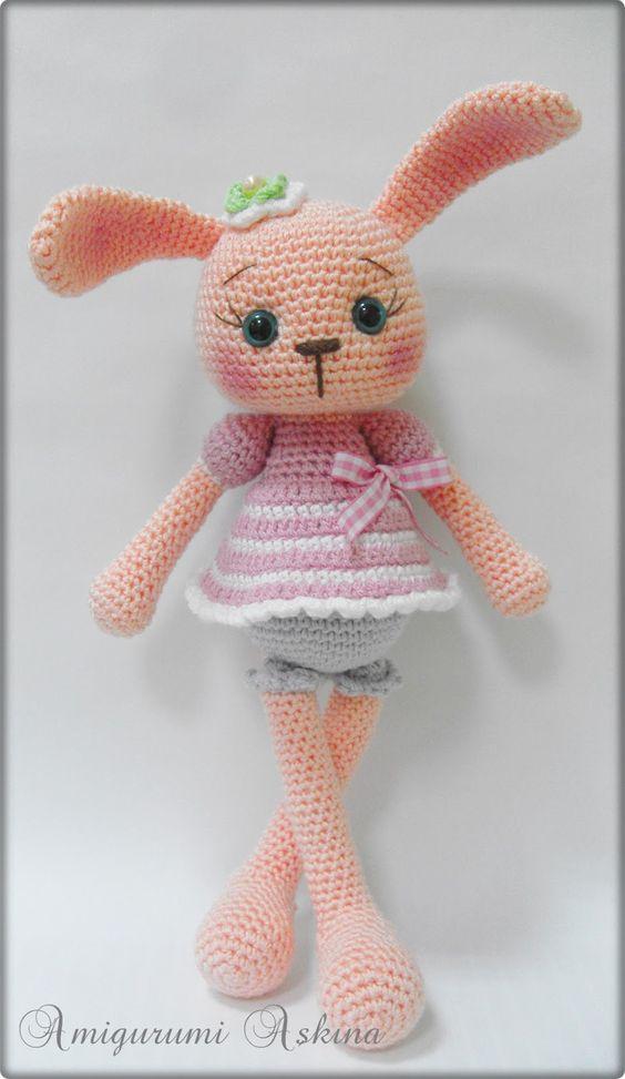 Amigurumi Cute Rabbit : Cute amigurumi bunny - Crazy Crochet and Knit Thingies ...