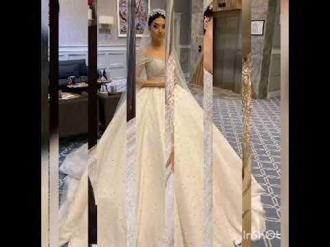 صور مجموعة فساتين زفاف فخمة Youtube Wedding Dresses Dresses Fashion