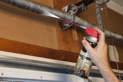 Three Reasons To Use Garage Door Lubricant Garage Door Opener Maintenance Garage Door Lubricant Garage Door Maintenance