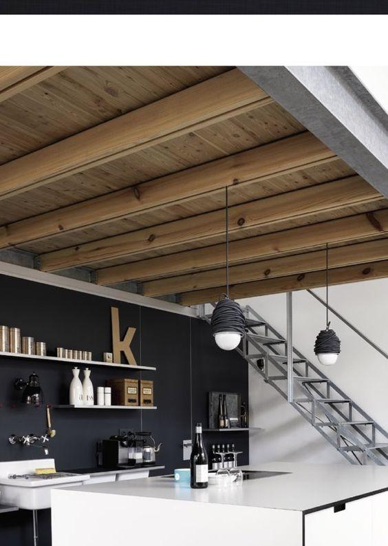 Esprit industriel dans la cuisine / Industrial style in the kitchen