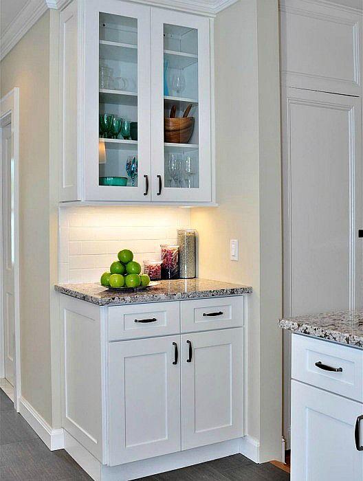 White Shaker Kitchen Cabinets | Aspen White Shaker Kitchen Cabinets ...