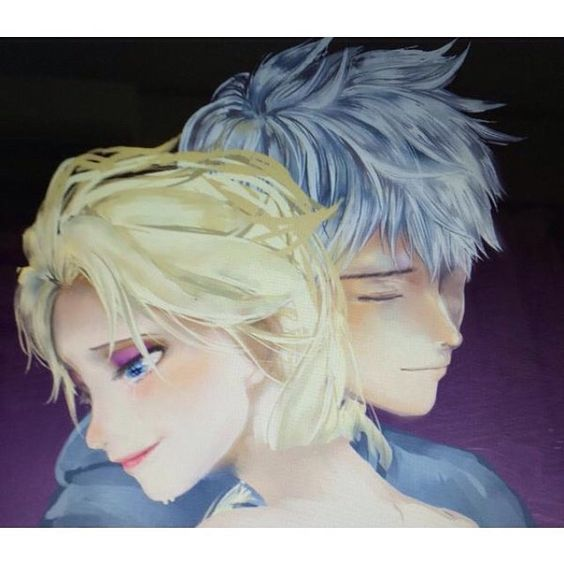 Jack and Elsa, a love that will never end.