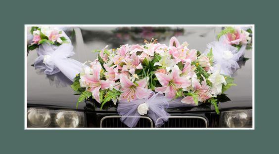 Autodekoration Blumen