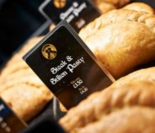 For the best pasties in Cambridge go to West Cornwall Pasty Company in the market place. Generously packed, delicious salty pastry, always too damn hot.