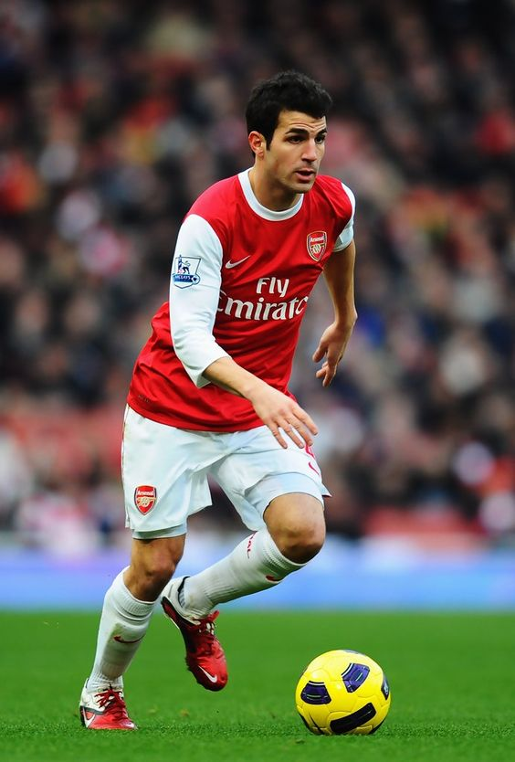 Fabregas when he still played for Arsenal
