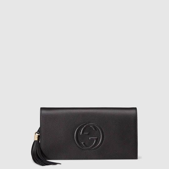 Gucci Soho leather clutch