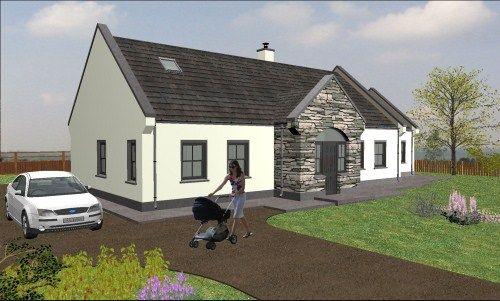 Irish Bungalow House Designs Bungalow House Design House Designs Ireland Open House Plans