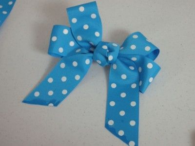 I bought some discounted ribbon, so I'm hoping I can follow the steps and make some fun barrettes for the girls. (Fingers crossed)