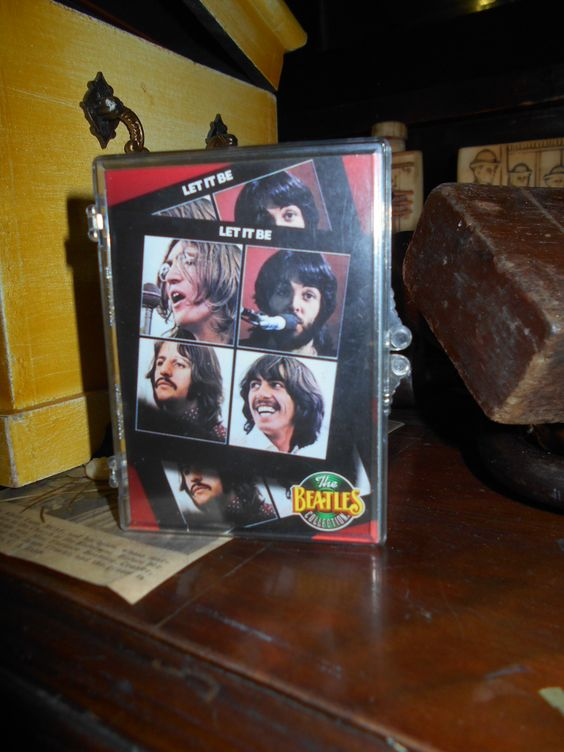 The Beatles complete set of Let it Be cards.