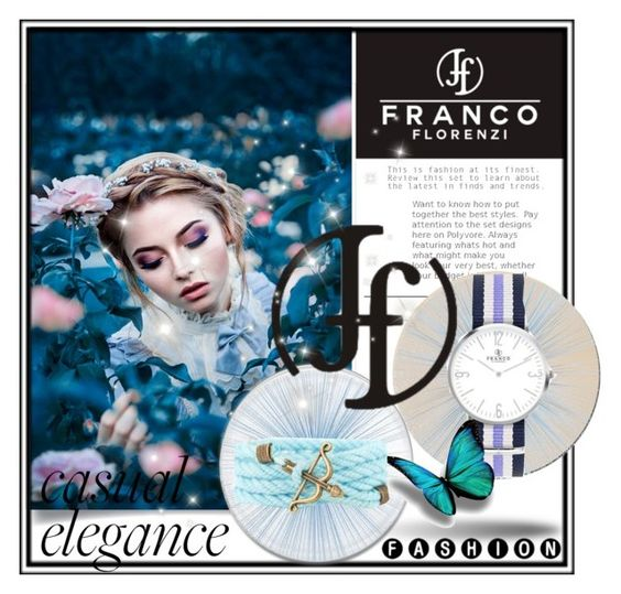 """""""Franco Florenzi -Watches"""" by newoutfit ❤ liked on Polyvore featuring Tisch New York, polyvorecommunity, polyvoreeditorial, PolyvoreMostStylish, 2016trends and francoflorenzi"""