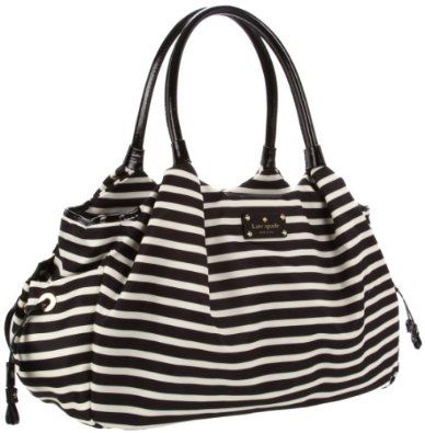 Kate Spade New York Kate Spade Nylon Stevie Baby Bag Diaper Bag. The bag I wanted when I was pregnant with Miles..