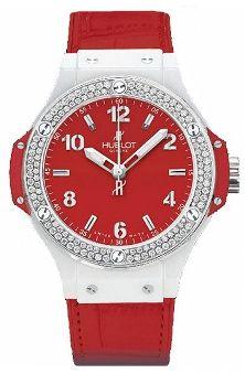 Hublot Ref. 361.HR.8510.LR.1104 White Ceramic Red