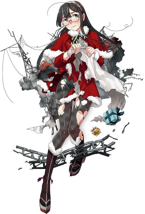 【艦これ】クリスマス限定グラ「初風・谷風・江風・大淀