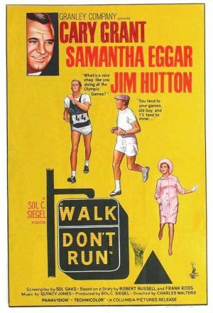 Image result for Walk, DOn't Run poster images