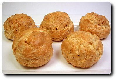 Culinary in the Desert: Gruyère Gougères